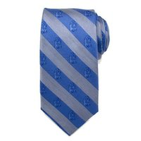 Star Wars: R2-D2 Blue & Grey Stripe - Mens Silk Tie
