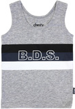 Bonds Stetchy Chesty - BDS Stripe Harpoon - 12-18 Months