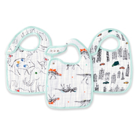 Aden + Anais: Classic Snap Bibs - Colour Pop (3 Pack)