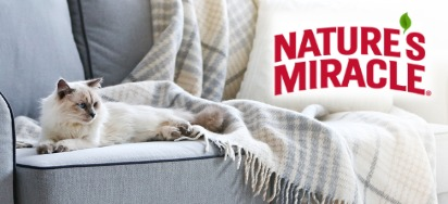 15% off Nature's Miracle Pet Products!