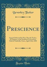 Prescience by Beverley Tucker image