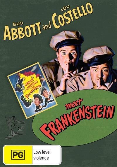 Abbott And Costello Meet Frankenstein on DVD
