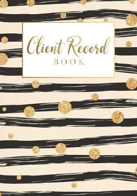 Client Record Book by Lisa Ellen