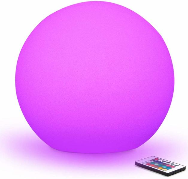Ape Basics: Multi-Coloured Ball Light Ball with Smart Remote