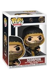 Mortal Kombat (2021): Scorpion (Metallic) - Pop! Vinyl Figure