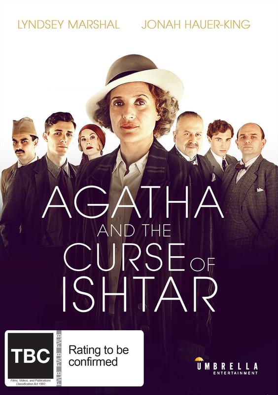 Agatha And The Curse Of Ishtar on DVD