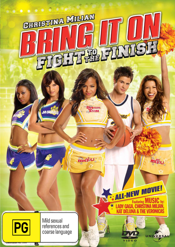 Bring It On: Fight to the Finish on DVD