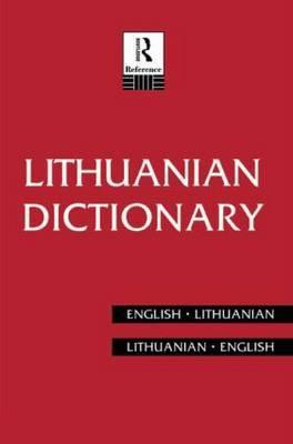 Lithuanian Dictionary by Bronius Piesarskas