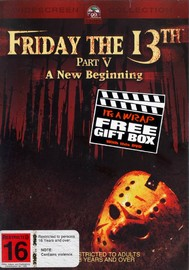 Friday The 13th Part 5 - A New Beginning (New Packaging) on DVD image