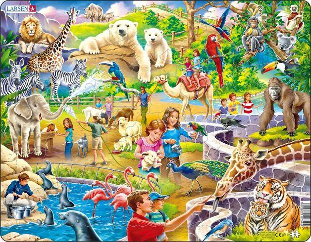 Larsen: Zoo - 48 Piece Puzzle