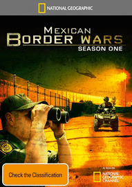National Geographic: Mexican Border Wars - Season 1 (2 Disc Set) on DVD