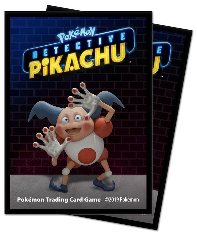 POKEMON - Deck Protector Sleeve- Detective Pikachu 'Mr Mime""