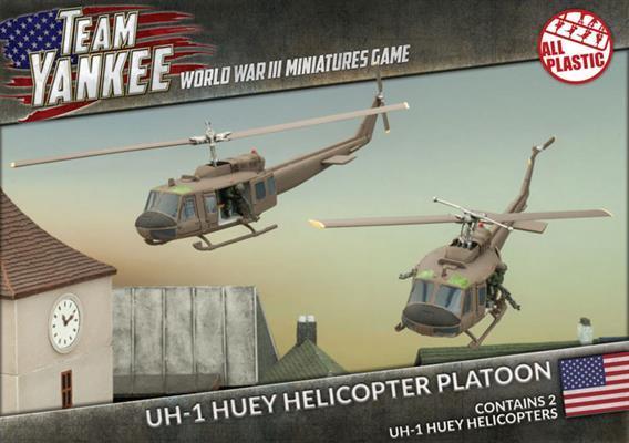 Team Yankee: UH-1 Huey Helicopter Platoon (x2)