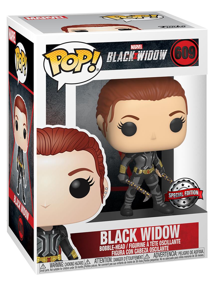 Black Widow: Black Widow (Grey Suit) - Pop! Vinyl Figure image