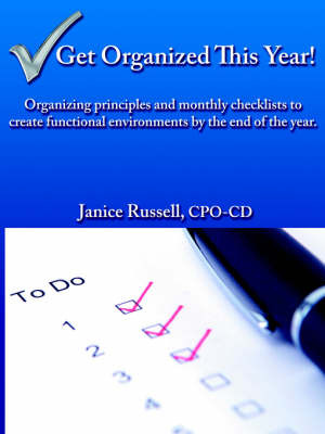 Get Organized This Year! by Janice Russell image