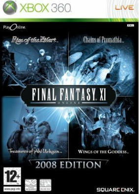 Final Fantasy XI Collection (includes 4 expansion packs) for Xbox 360