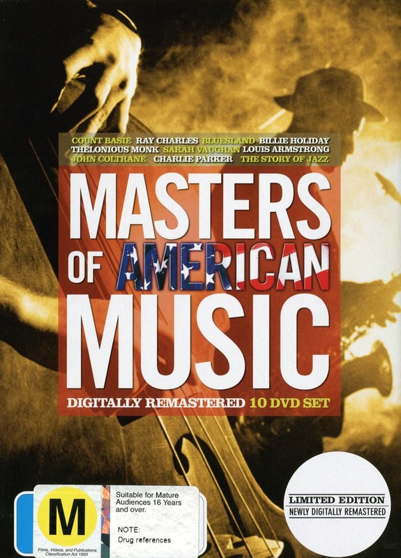 Masters of American Music (10 Disc Box Set) on DVD