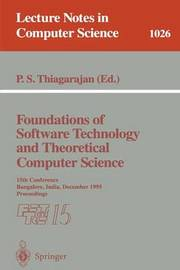 Foundations of Software Technology and Theoretical Computer Science image