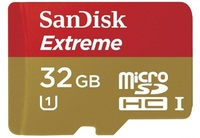32GB Sandisk Extreme - MicroSD UHS-I Card