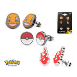 Pokemon Charmander Earring Set