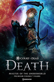 Court of the Dead - Death: Master of the Underworld - Premium Format Figure
