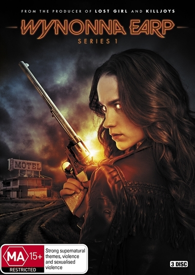 Wynonna Earp - Series 1 on DVD image