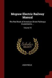 McGraw Electric Railway Manual by * Anonymous image