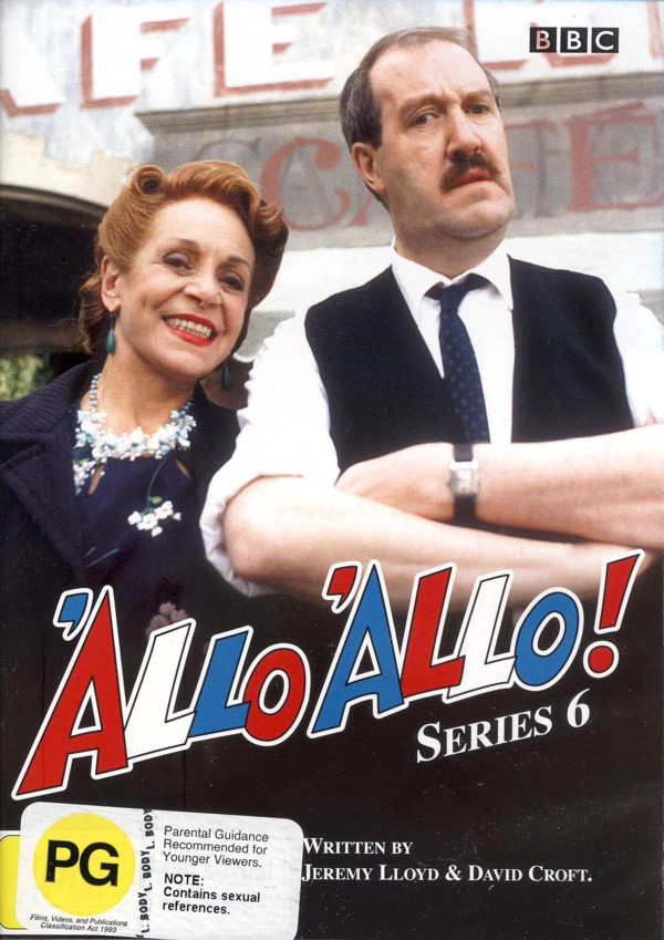 'Allo 'Allo! - Series 6 on DVD image