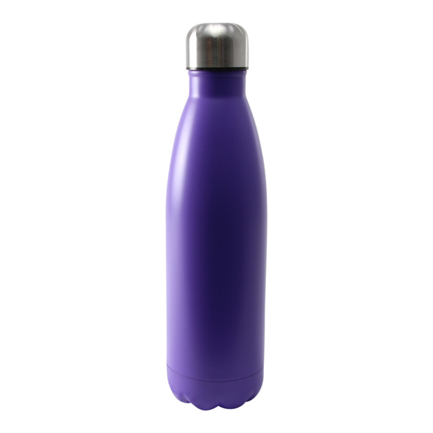 Insulated Stainless Steel Bottle 500ml Purple