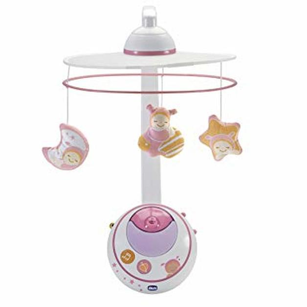Chicco: Magic Stars Cot Mobile - Pink