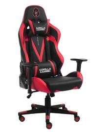 Gorilla Gaming Commander Elite Chair - Black & Red for