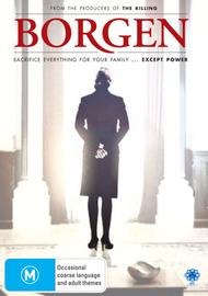 Borgen on DVD