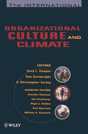 The International Handbook of Organizational Culture and Climate image