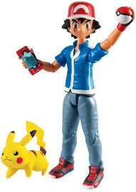 Pokémon: Action Pose Ash & Pikachu - Figure 2-Pack image