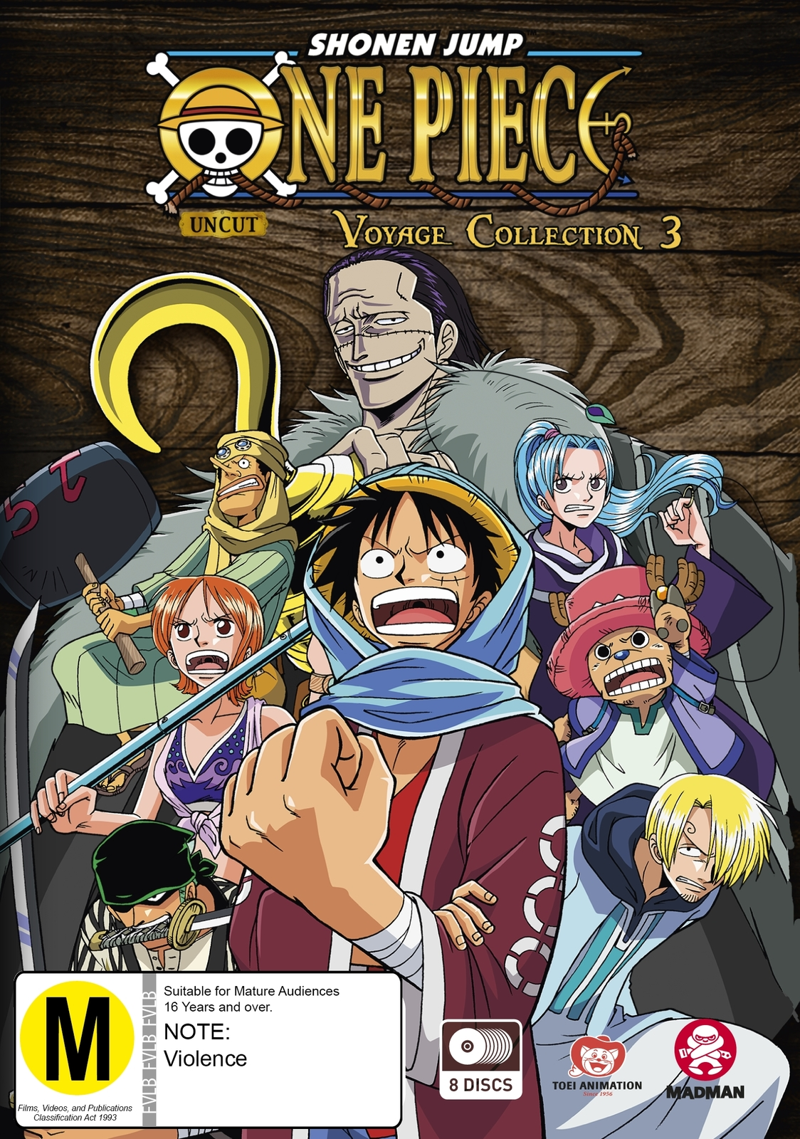One Piece - Voyage Collection 3 (Episodes 104-156) on DVD image