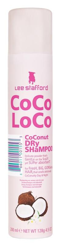 Lee Stafford CoCo LoCo - Coconut Dry Shampoo (200ml)