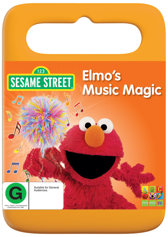 Sesame Street: Elmo's Music Magic on DVD