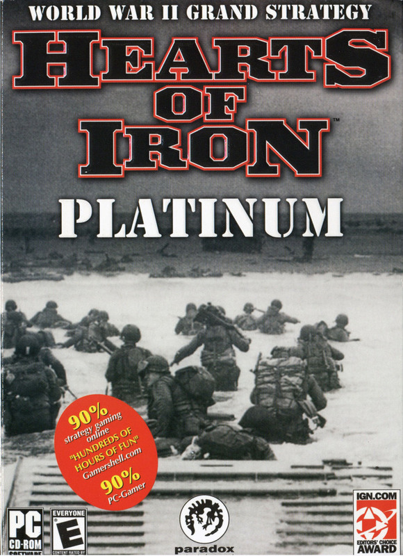 Hearts of Iron Platinum for PC Games