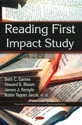 Reading First Impact Study by Beth C. Games image