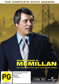 McMillan - The Complete Sixth Season on DVD