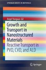 Growth and Transport in Nanostructured Materials by Angel Yanguas-Gil
