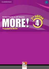 More! Level 4 Teacher's Book by Cheryl Pelteret