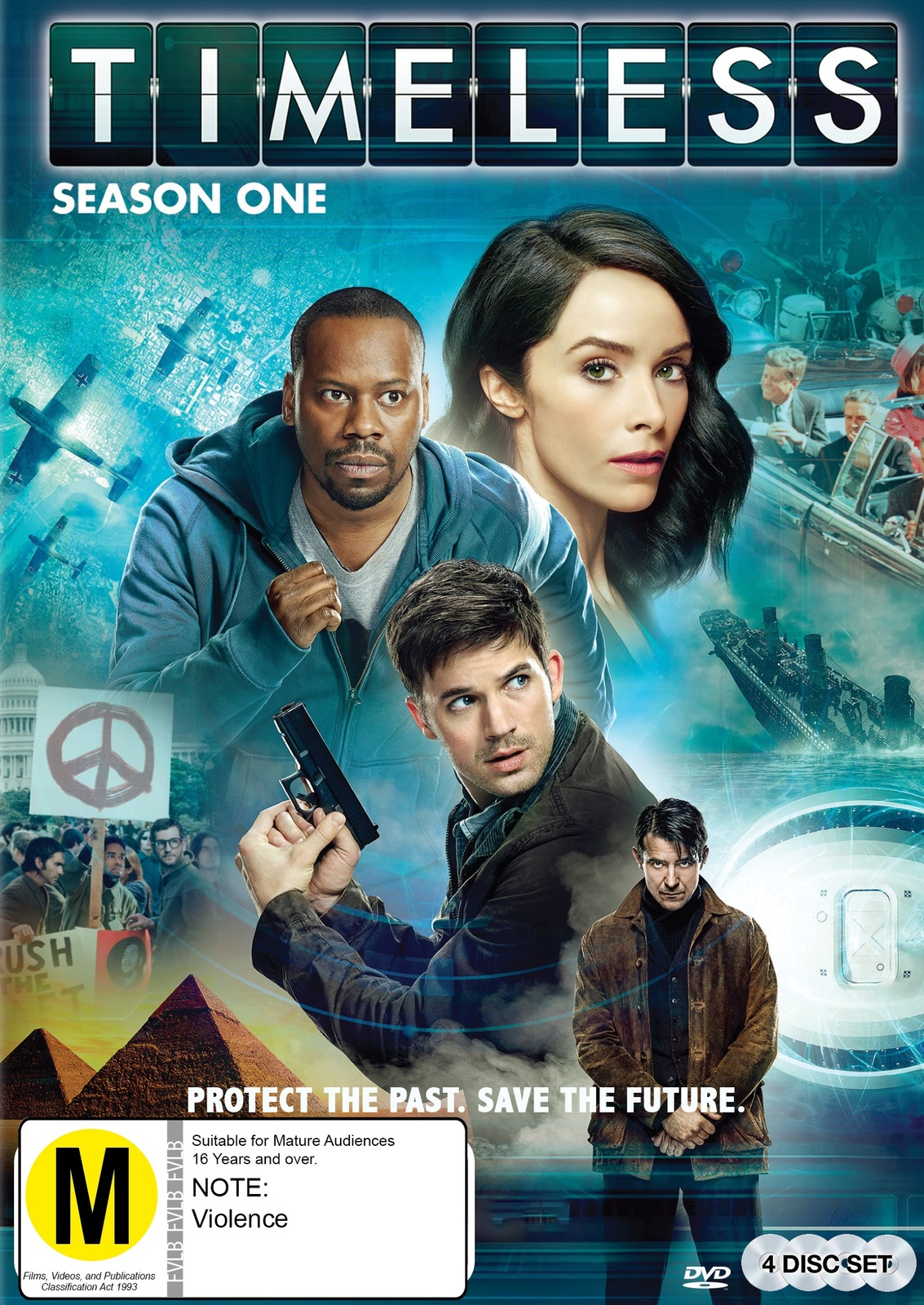 Timeless - Season One on DVD image