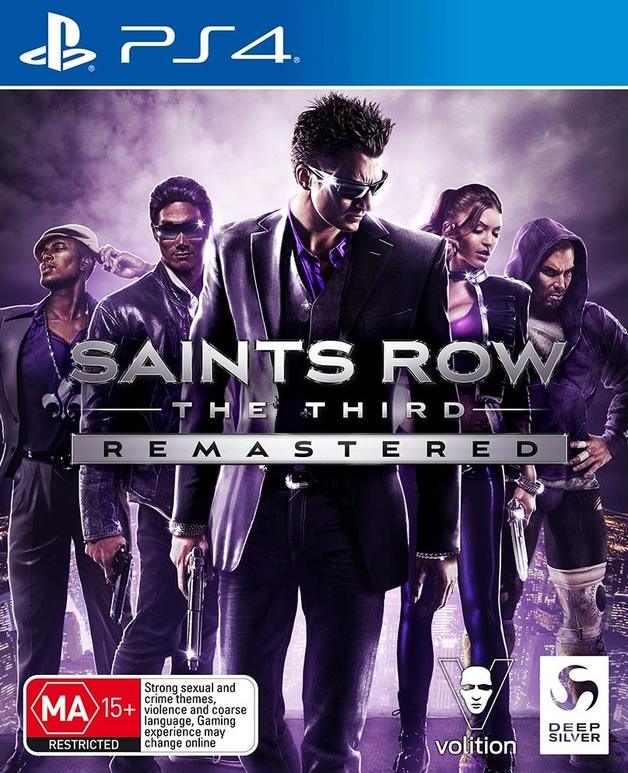 Saints Row: The Third Remastered for PS4