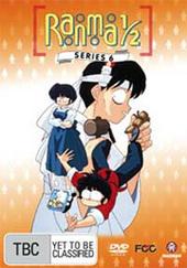 Ranma 1/2 - Series 6 (5 Disc Box Set) on DVD