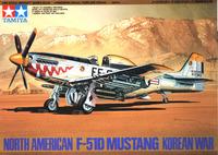 "Tamiya U.S. F-51D Mustang ""Korean War Version"" 1/48 Aircraft Model Kit"