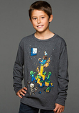 Minecraft Tight Spot Youth Long Sleeved Shirt (XL)
