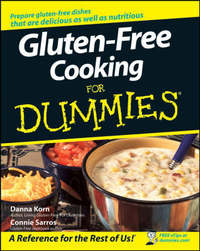 Gluten-Free Cooking For Dummies by Danna Korn