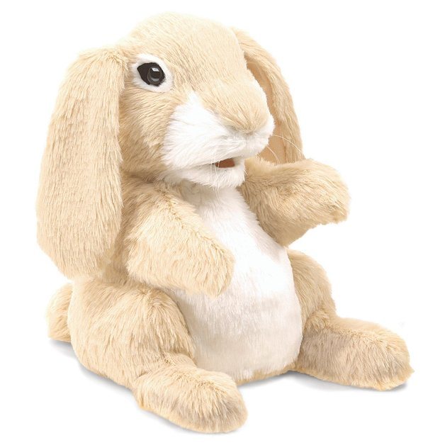 Folkmanis Hand Puppet - Sniffing Rabbit