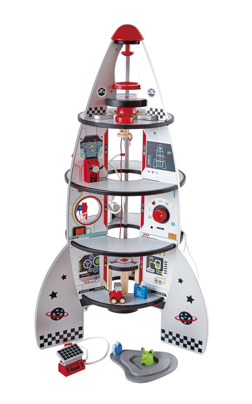 Hape: Four Stage Rocket Ship image